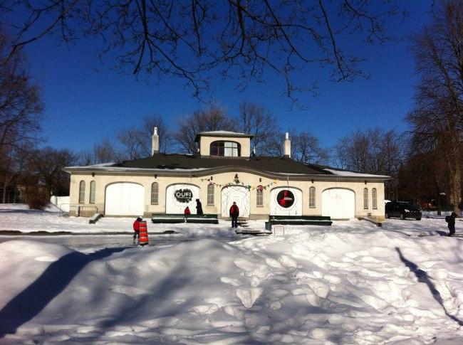 Le pavillon Saint-Viateur - La tour - mars 2016